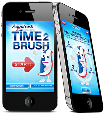 Brush Time App for kids